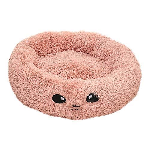 Ovale vorm Gezellige hond Huisdier Slaapmat Bed Puppy Kat Hondenkussen Kussen Ademend Dierbenodigdheden Bed Zacht Warm Volledig Pluche Slaapmat