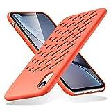 ESR Hülle für iPhone XR - Geschmeidige Silikon Handyhülle für das iPhone 6,1 Zoll - Korallfarben