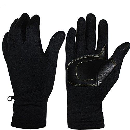 Cox Swain Softshell Handschuhe Polar mit Touchscreen Handschuhe, Colour: Schwarz, Size: XL