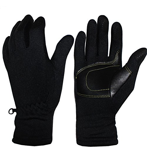 Cox Swain Softshell Handschuhe Polar mit Touchscreen Handschuhe, Colour: Schwarz, Size: M