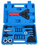8MILELAKE 21pc Air Conditioning Clutch Removal and Installation Tool Kit