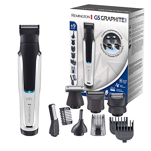 Remington G5 Graphite Series PG5000 - Recortador de Barba y