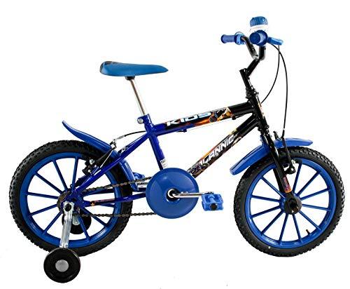 Bicicleta Aro 16 Infantil Menino Kids Azul