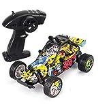 LQZCXMF Graffiti Remote Control Car Racing Coche de Juguete para niños con Velocidad súper Alta y Capacidad Todoterreno Capacidad de Escalada en Buggy RC Buena Potencia y Velocidad rápida El Coche RC