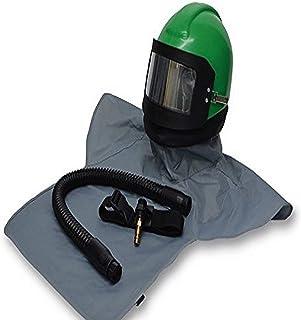 Allegro Industries NV20‐00 Nova 2000 Helmet (Complete) with Nylon Cape, Breathing Tube and Flow Control Valve, High Pressure