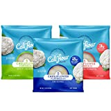 Cali'flour Foods Flatbreads (5' Variety Pack, 24 Count) - Keto Friendly, Low Carb, Gluten Free | Cauliflower Bread & Tortillas