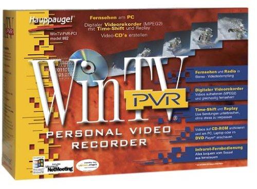 Hauppauge WinTV PVR TV Radio Karte