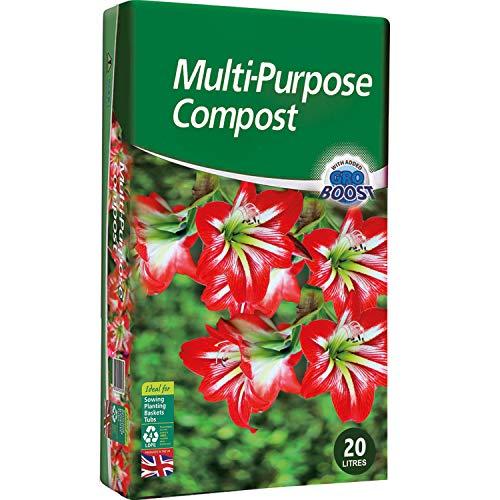 KEPLIN Multi-Purpose Compost Soil Contains Nutrients for Plants - Nutrient...