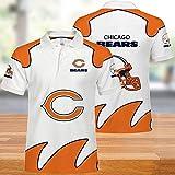 New Jersey NFL T-Shirts De Football Américain pour Hommes Séchage Rapide Maillots Polos T-Shirt Supporters Rugby Football Unisexe Lait Soie T-Shirt 11-4XL