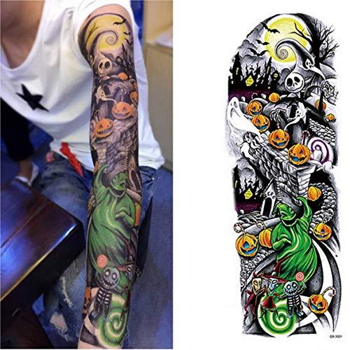 Handaxian 3pcsMens Tattoo Sleeve Bracelet Tattoo Waterproof ...
