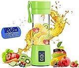 Green Smoothie Blender Personal Mini Portable Juicer Fruit Juice, Milk Shake, Protein Shaker USB...