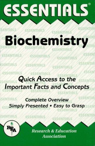 Biochemistry Essentials (Essentials Study Guides)