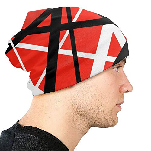 Guangasdads Van Halen Anime Fashion Knitted Hat, Everyday Outdoor Sports Fashion Knitted Hat and Beanie Hat, Perfect Clothing Accessories