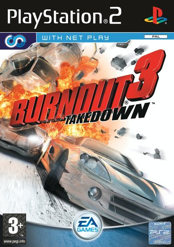 Electronic Arts Burnout 3 Takedown, PS2 - Juego (PS2, PlayStation 2, Racing, T (Teen))