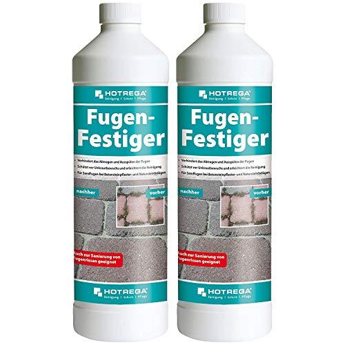 2 x HOTREGA Fugen-Festiger 1000ml Flasche