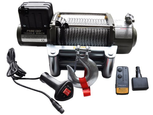 Elektrische Marken-Seilwinde 24Volt 16800 lb / 7620 kg / 24V
