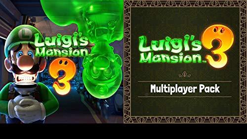Luigi's Mansion 3 + Luigi's Mansion 3: Multiplayer Pack DLC Bundle - Switch...