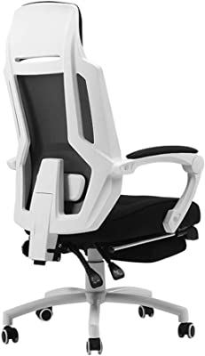 LRXG Office Chair, High Back Large Seat and Ergonomic Swivel Chair Reclining Computer Desk Chair