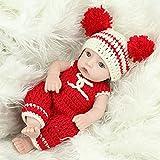 SXZSB 11 Pollici 28 cm Bambole rinasce per Il Bambino Vinile della Ragazza Soft Silicone Real Life Handmade Giocattoli del Bambino dei Neonati dei Neonati