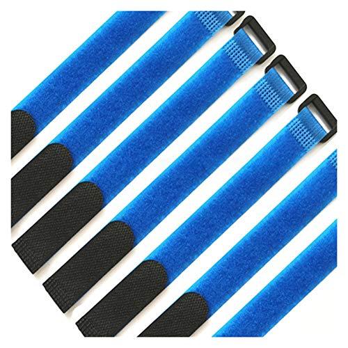 JIAHUI 10 piezas de gancho adhesivo reutilizable para sujetar cables y cintas...