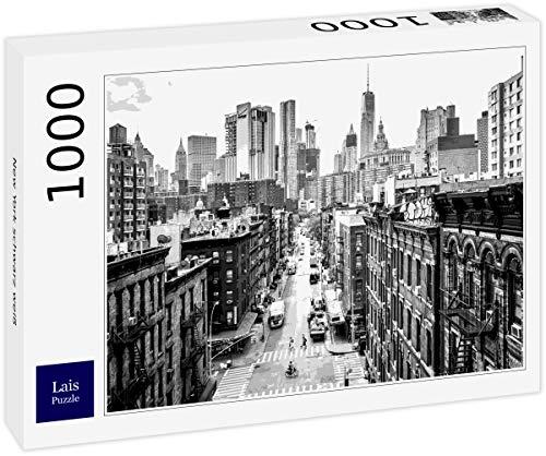 Lais Puzzle New York schwarz weiß 1000 Teile