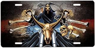 Grim Reaper License Plate