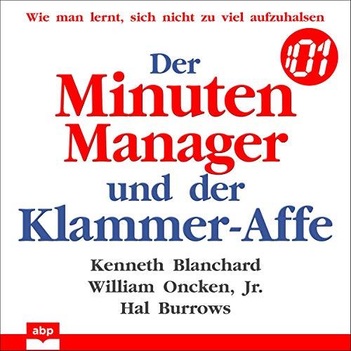 『Der Minuten Manager und der Klammer-Affe』のカバーアート