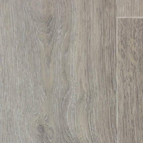 PVC-Boden Holzdielenoptik Dielen Optik XL Oak Vliesrücken| Muster | Vinylboden versch. Längen | Fußbodenheizung geeignet | PVC Platten strapazierfähig & pflegeleicht | Rutschhemmender Fußboden-Belag