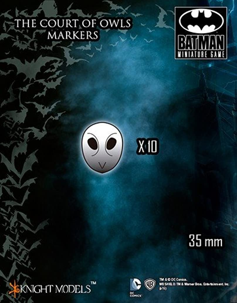 Batman Miniature Game: The Court Of Owls Markers