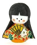 Tierra Zen Tentetieso OkiagariKaguyahime Princesa Luz de Luna, Papel Maché, Multicolor, 4.5x3x4 cm