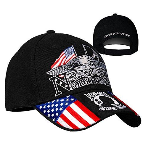 Gorra Biker Army Bandera USA Never Forgotten