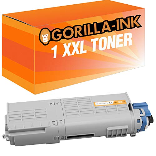 Gorilla-Ink 1 Toner XXL für Oki C532 46484106 Magenta C 532 DN C 542 DN MC 563 DN MC 573 DN