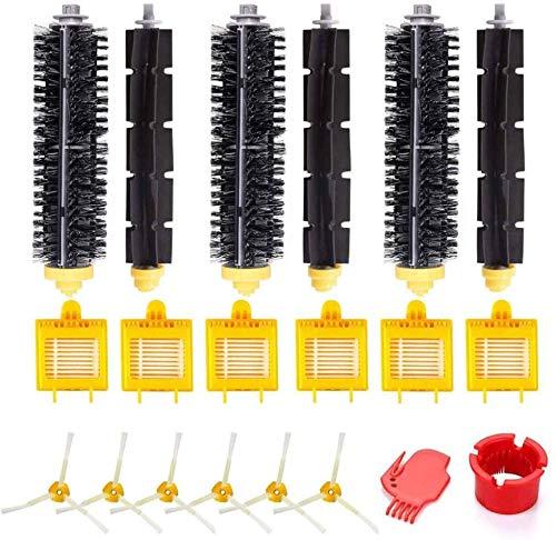 HAOJUE Kit de accesorios de repuesto compatible con Irobot Roomba 750 760 765 770 774 775 776 780 782 785 786 790 Robot aspirador accesorio