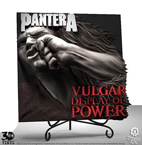 Knucklebonz Pantera (Vulgar Display of Power) Collectible - 3D Vinyl, Officially Licensed, Includes CoA