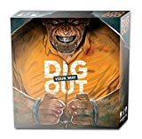 Dig Your Way Out - Jeu de société - Adulte, stratégie, Bluff - Essayez de Vous échapper du pénitencier !