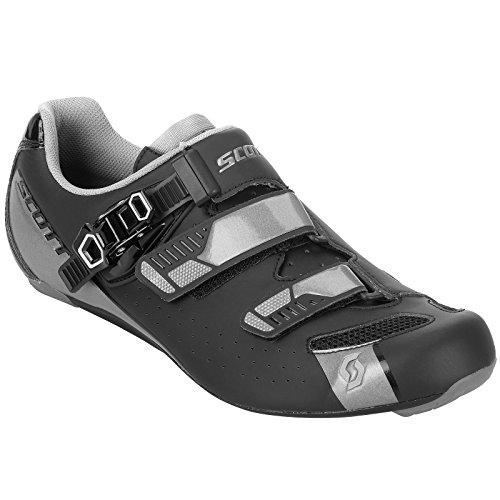 Scott Road Pro Rennrad Fahrrad Schuhe schwarz/grau 2019: Größe: 45