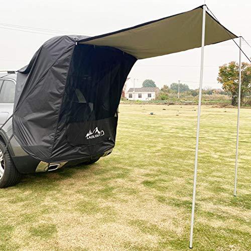 Auto-Zelt Auto-Markise Sonnenschutz, wasserdicht, Auto-Baldachin, Wohnmobil, Anhängerzelt, Heckklappe, Markise, Zelt, Dach für SUV, Schrägheck, Minivan, Limousine, Camping, Outdoor