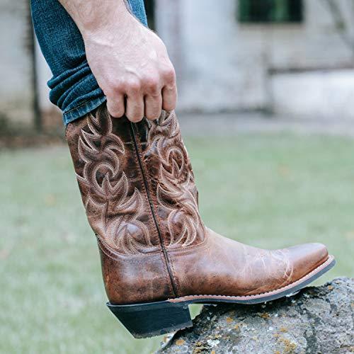 Laredo Men's Breakout Western Boot,Rust,11 XW US