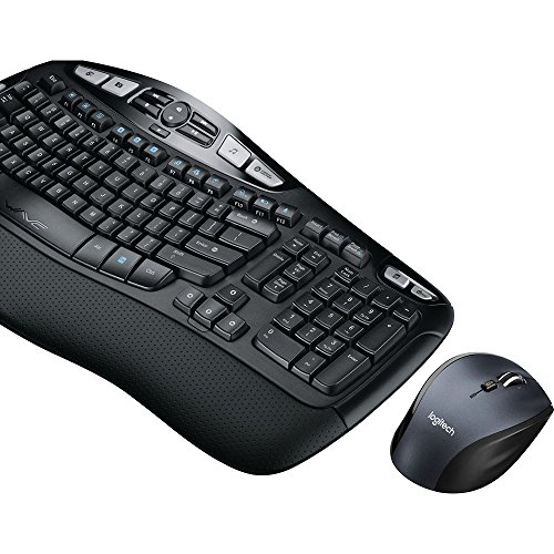 Logitech MK570 Wireless Wave Keyboard and Mouse Combo