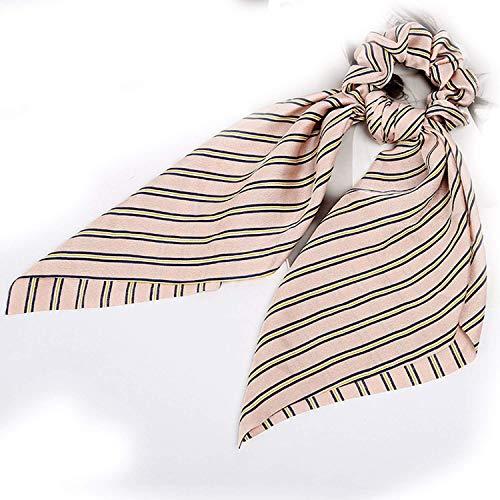 OULN1Y Bandeaux Elastic Scrunchie Girl Hair Ties Cute Hair Band Hair Accessories Ribbon Rope Bow Leopard,27