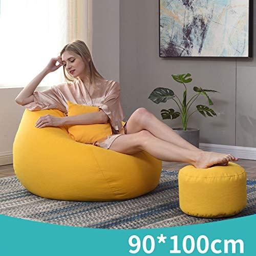 XSJASDNCDG zachte sofa sofa zak zitzak Lazy sofa-pluche, ultrazachte hoogwaardige deeltjes zitzak-grote sofa met zachte microvezel-overtrek woonkamer, slaapkamer A04
