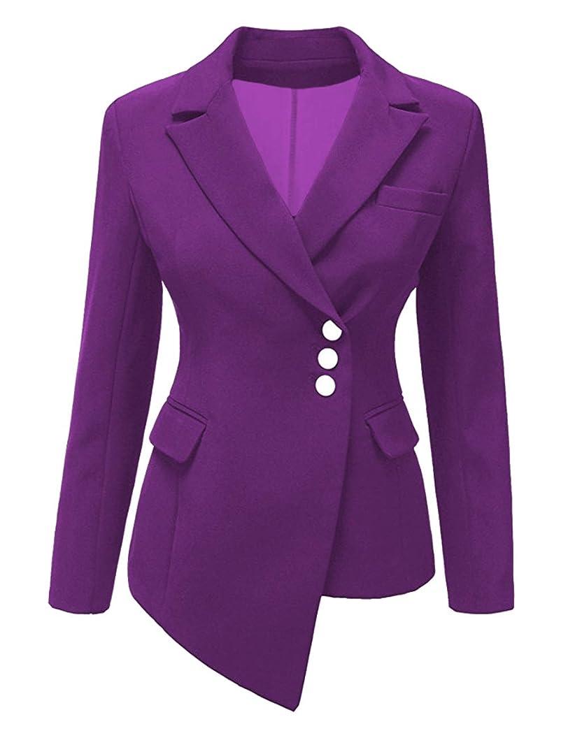 SEBOWEL Women's Casual Work Long Sleeve Slim Fit Office Blazer Suit Jacket iqexcopxynz91
