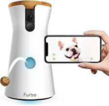 Furbo Dog Camera: Treat Tossing, Full HD Wifi Pet Camera and 2-Way Audio, Designed for Dogs, Compatible with Alexa (As See...