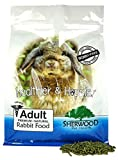 Sherwood Pet Health Rabbit Food-Adult, Timothy/Alfalfa Blend (Grain & Soy-Free) (Vet Used and Recommended) 10 lb.