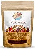 Monkey Business Coffee - Frijoles Integrales De Café Kopi Luwak Salvaje - 125 Gramos (Otros Pesos Y Tipos De Frijoles Disponibles) - Fuente Sostenible (De Indonesia)