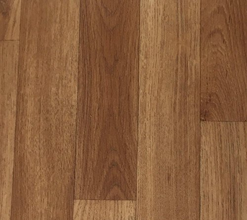 PVC Vinyl-Bodenbelag | Muster | in Holz Optik Vliesrücken | CV PVC-Belag in verschiedenen Maßen verfügbar | CV-Boden wird in benötigter Größe als Meterware geliefert