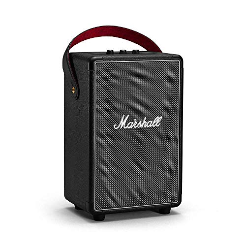 Marshall Tufton Portable Wireless Bluetooth Speaker - Black (Renewed)