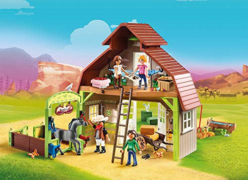 The Spirit Riding Free Barn is one of the brand new Playmobil sets this year