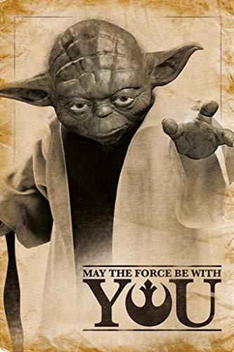 Bourne Gifts Póster de Star Wars (Yoda #251)