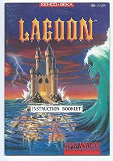 Lagoon - SNES INSTRUCTION BOOKLET